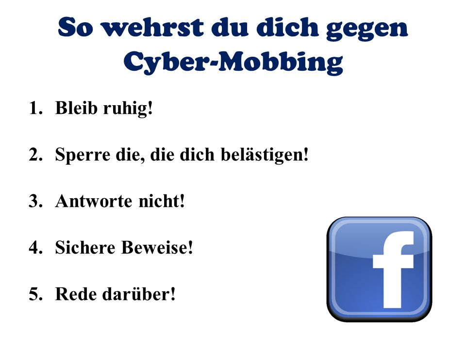 So wehrst du dich gegen Cyber-Mobbing