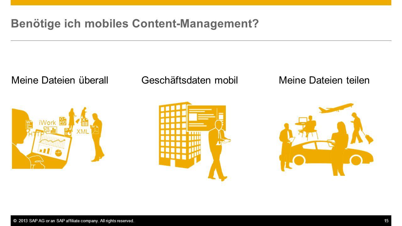 Benötige ich mobiles Content-Management