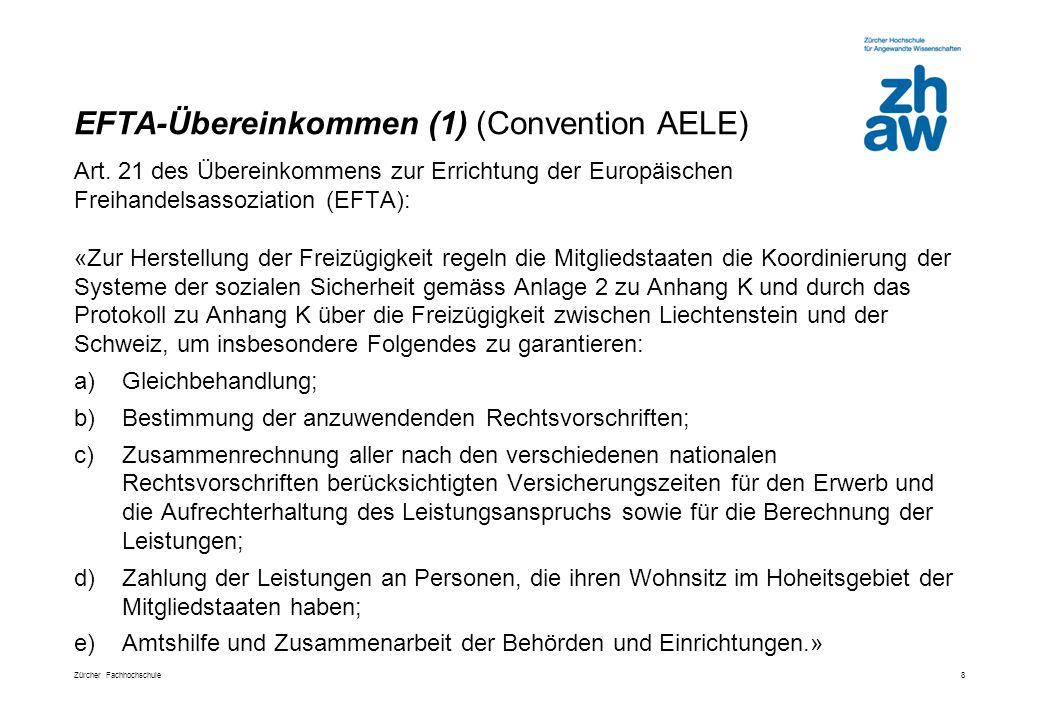 EFTA-Übereinkommen (1) (Convention AELE)