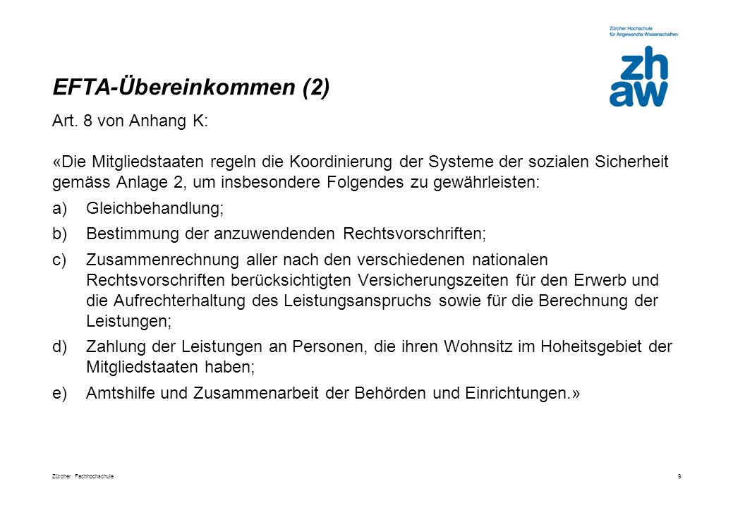 EFTA-Übereinkommen (2)