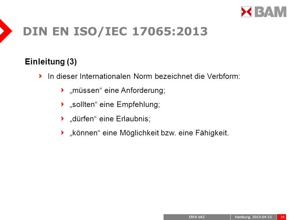 DIN EN ISO/IEC 17065:2013 Einleitung (3)