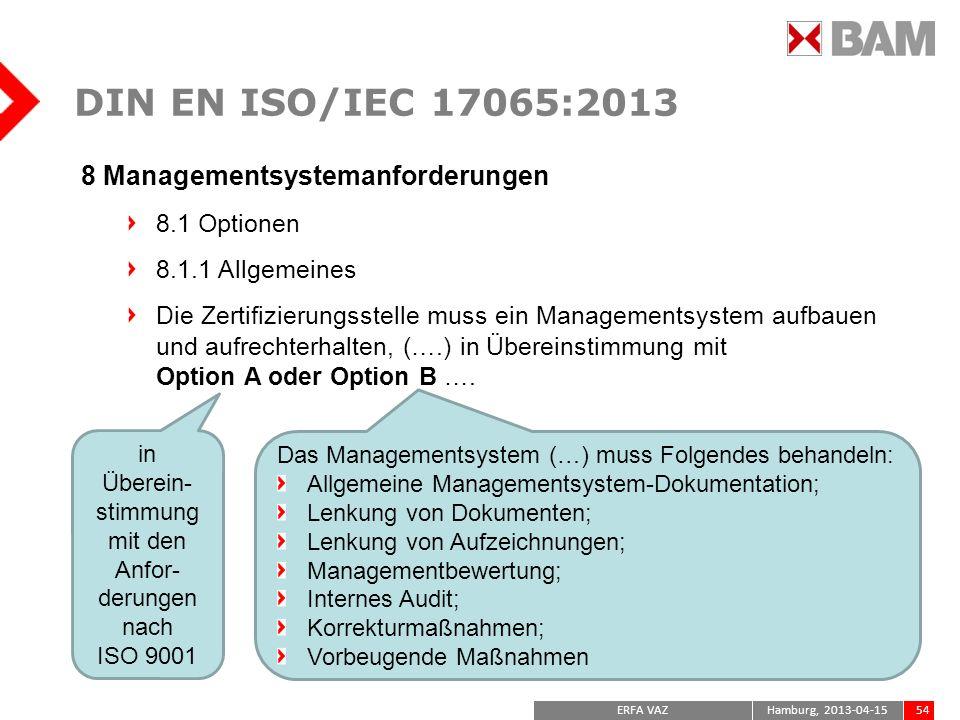 in Überein-stimmung mit den Anfor-derungen nach ISO 9001