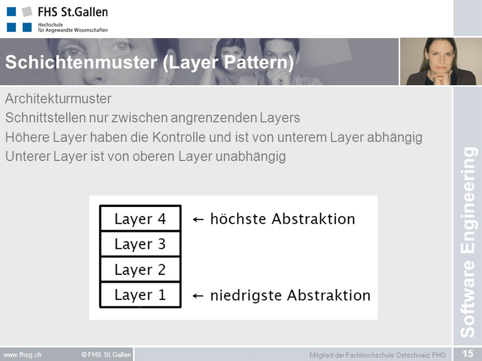 Schichtenmuster (Layer Pattern)