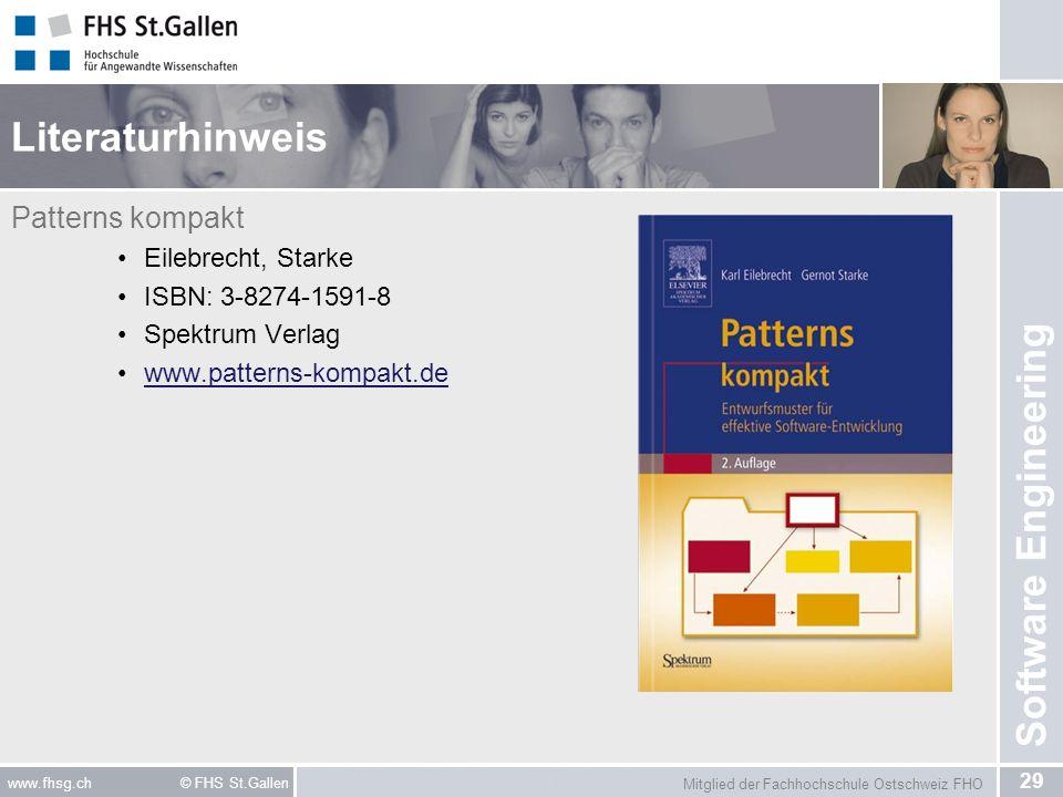 Literaturhinweis Patterns kompakt Eilebrecht, Starke
