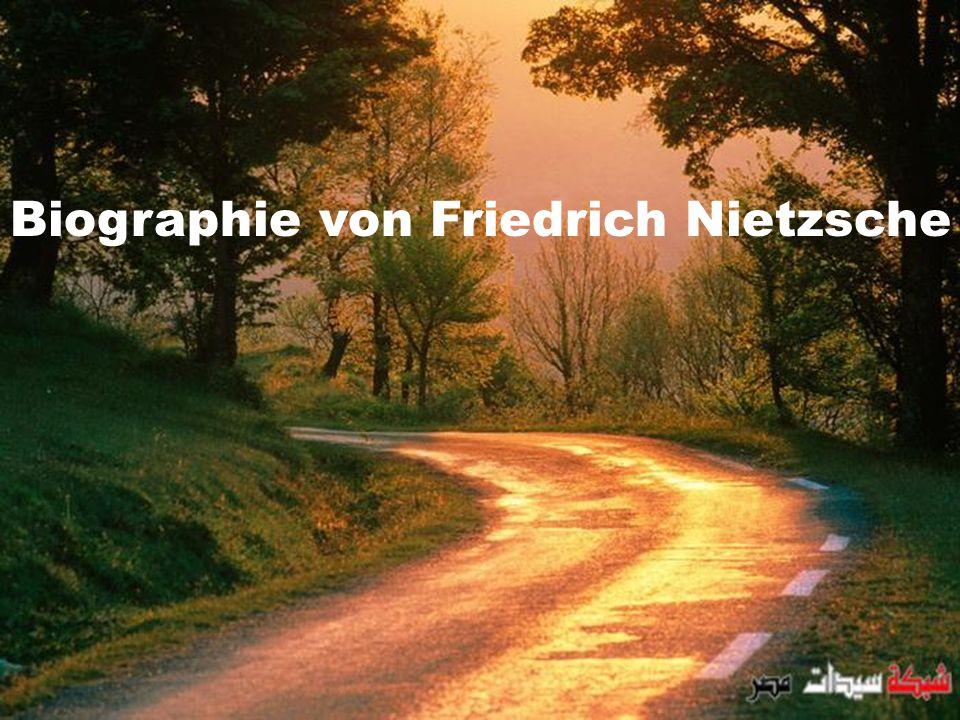 Biographie von Friedrich Nietzsche