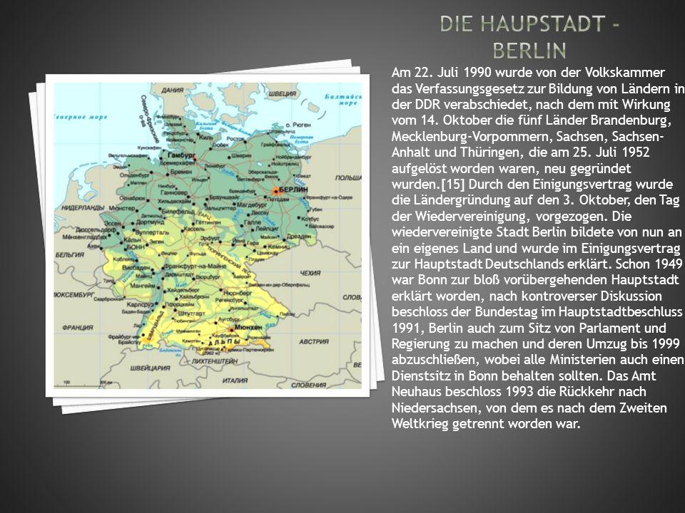 Die haupstadt - berlin