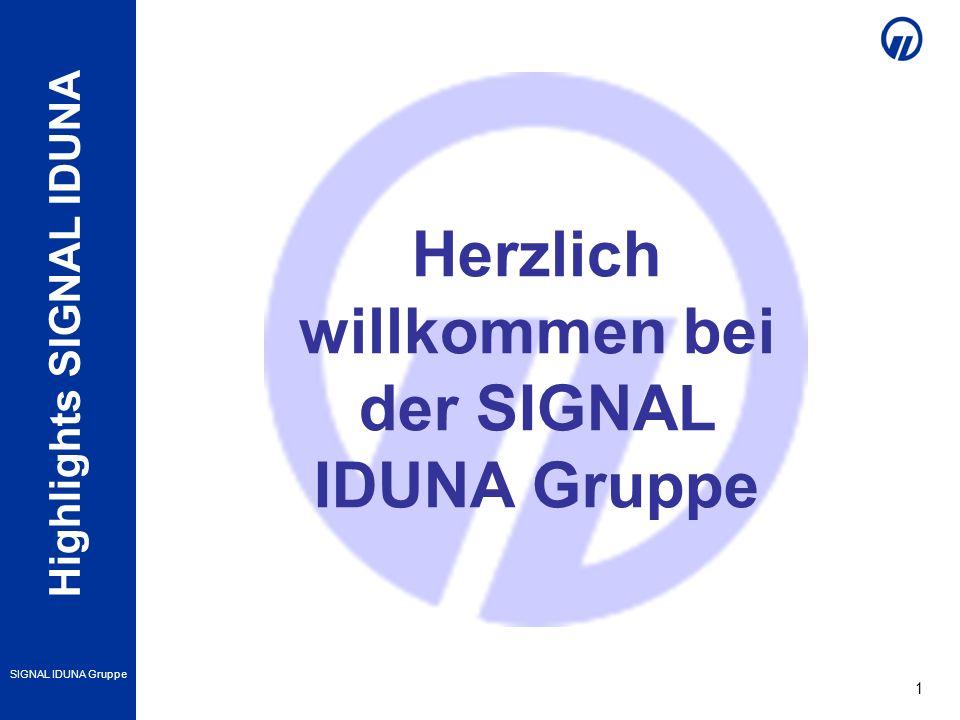 Herzlich willkommen bei der SIGNAL IDUNA Gruppe
