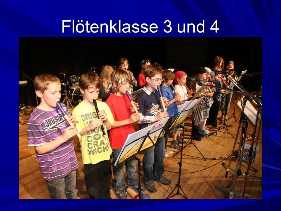 Flötenklasse 3 und 4