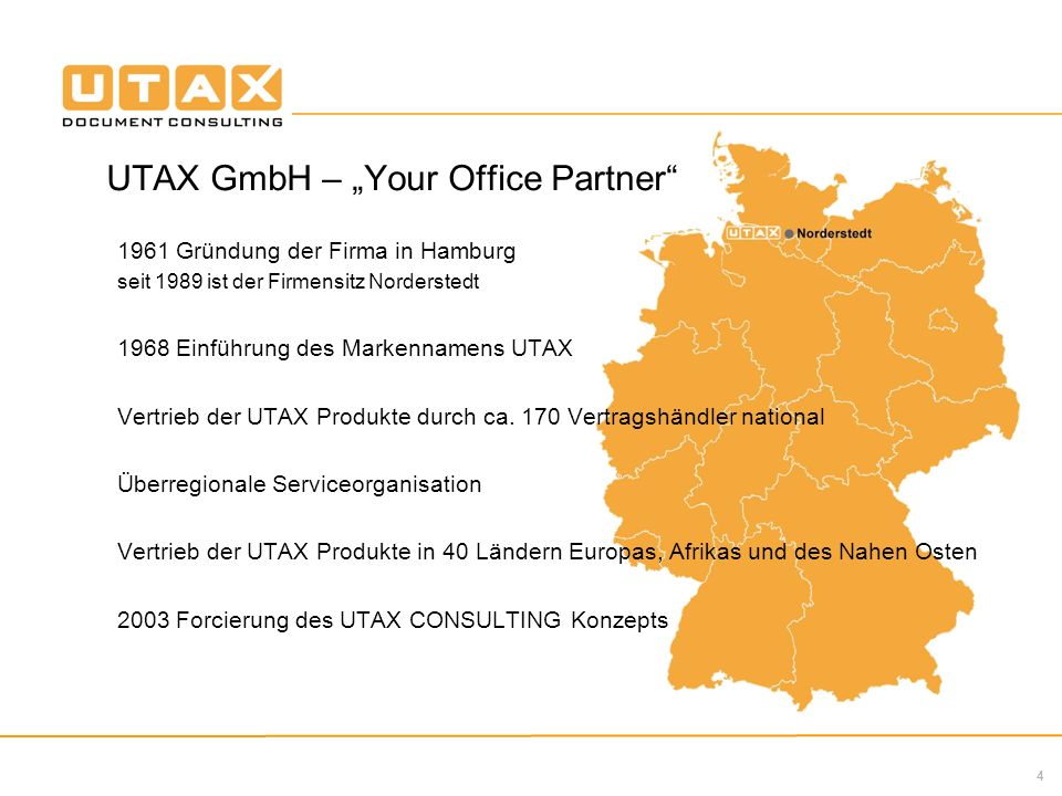 "UTAX GmbH – ""Your Office Partner"
