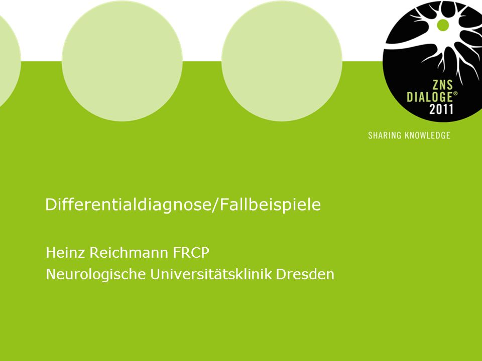 Differentialdiagnose/Fallbeispiele