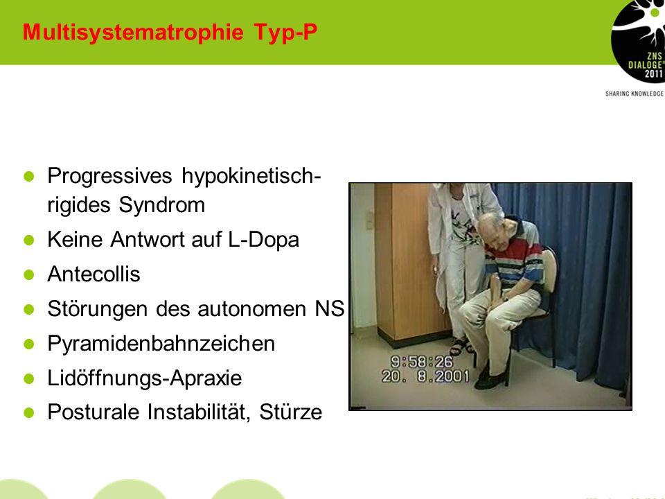 Multisystematrophie Typ-P