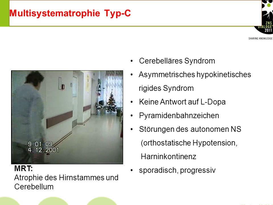 Multisystematrophie Typ-C