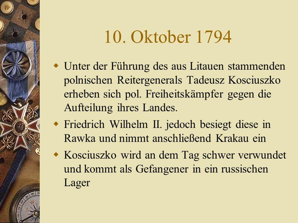 10. Oktober 1794