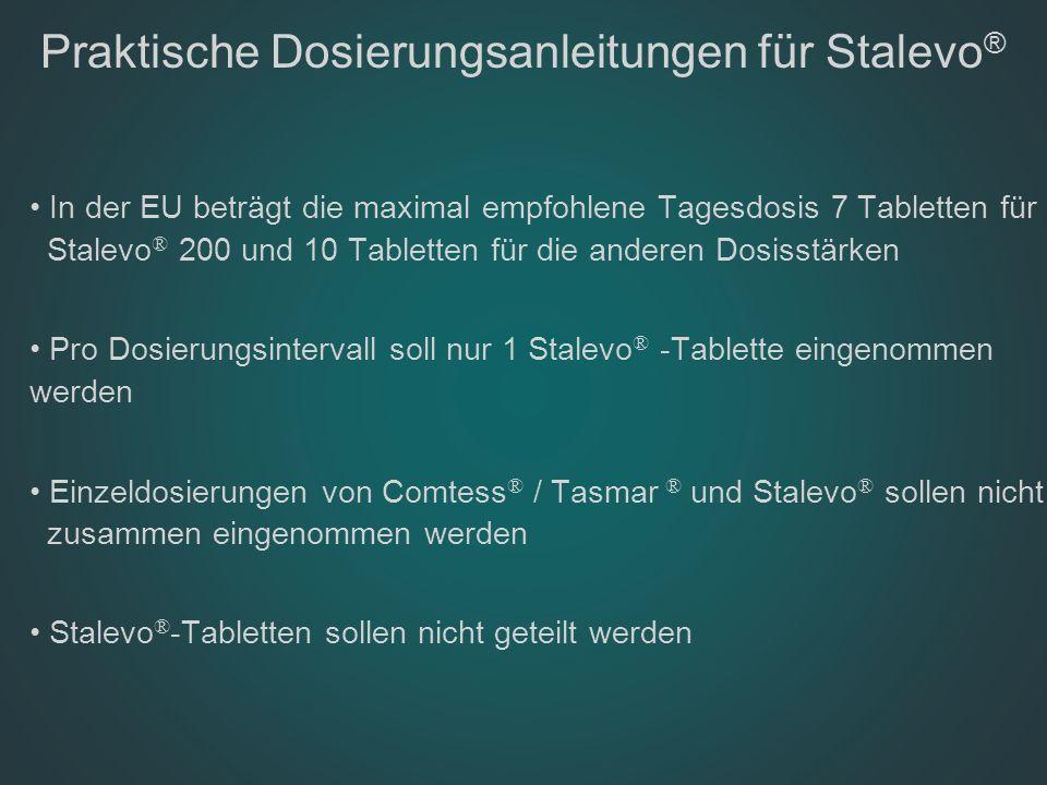 Praktische Dosierungsanleitungen für Stalevo®