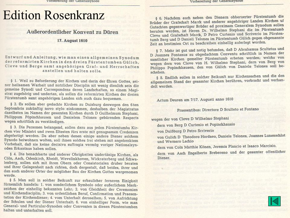 Edition Rosenkranz