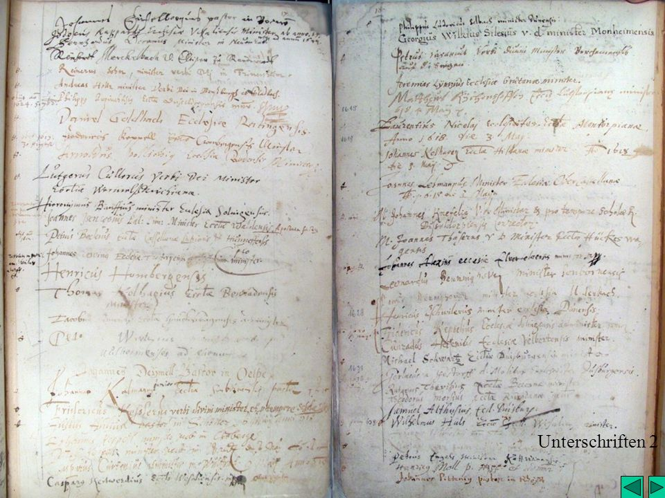 Unterschriften 2