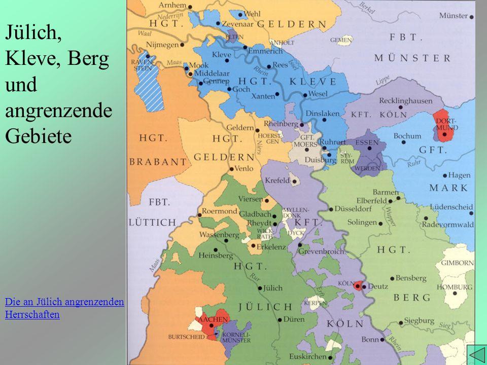 Jülich, Kleve, Berg und angrenzendeGebiete