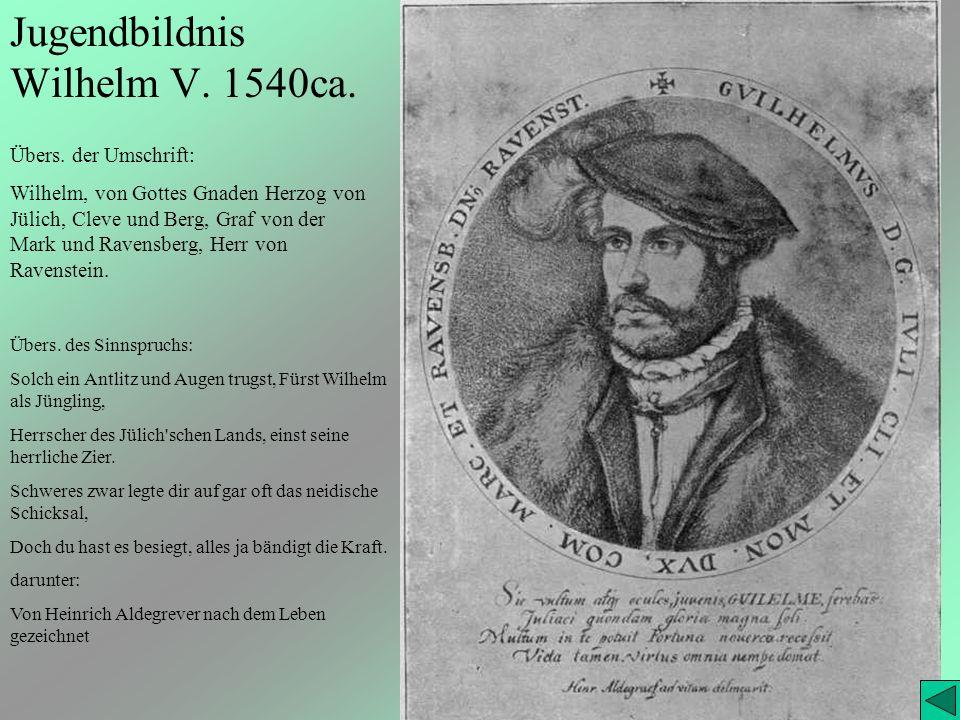 Jugendbildnis Wilhelm V. 1540ca.