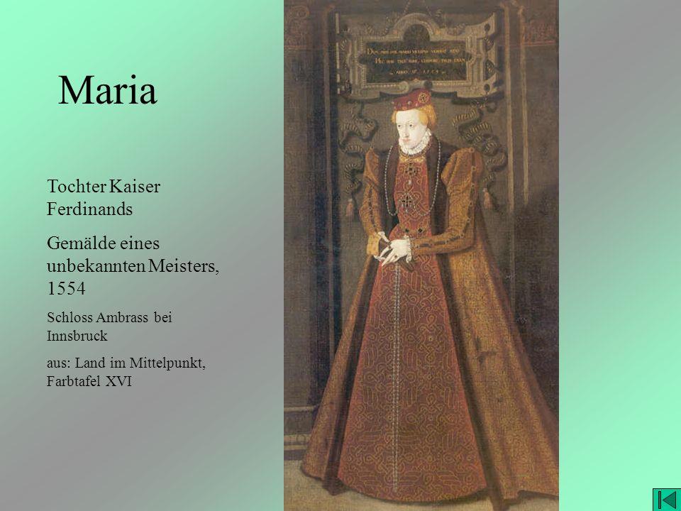 Maria Tochter Kaiser Ferdinands