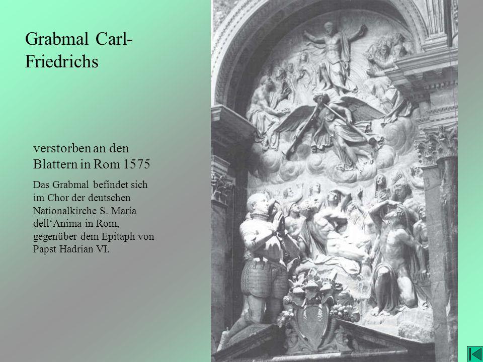 Grabmal Carl-Friedrichs