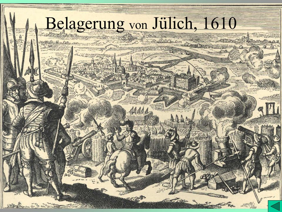 Belagerung von Jülich, 1610