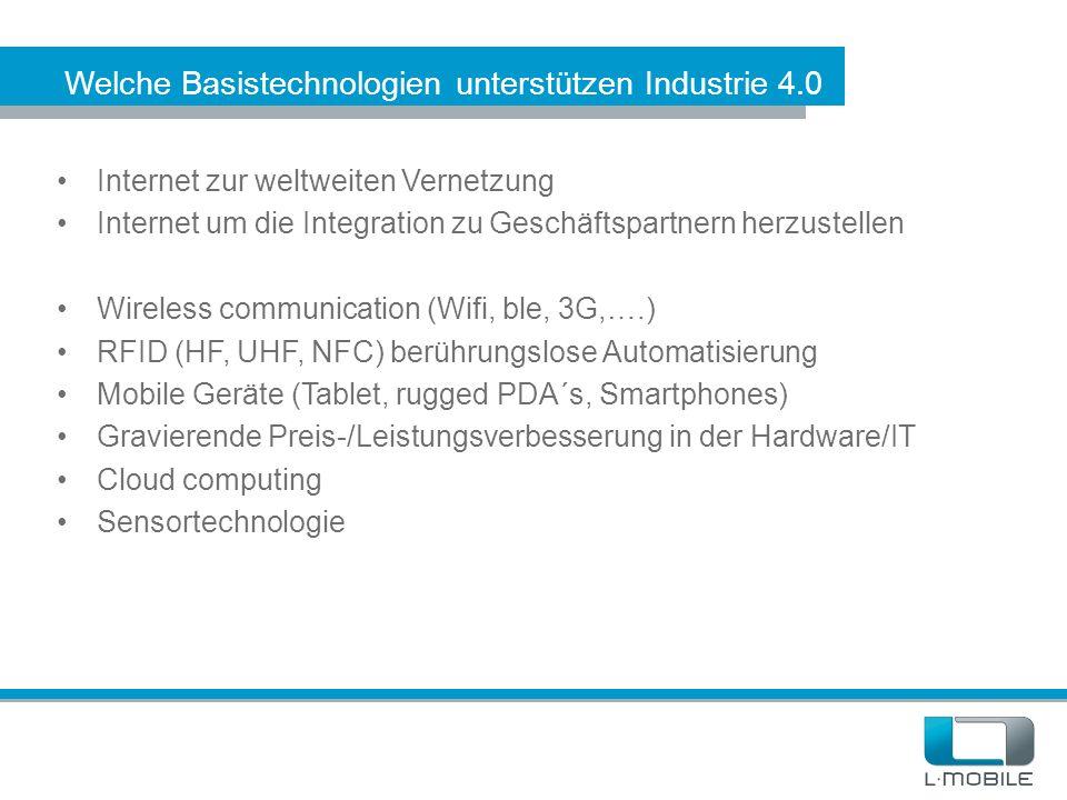 Welche Basistechnologien unterstützen Industrie 4.0