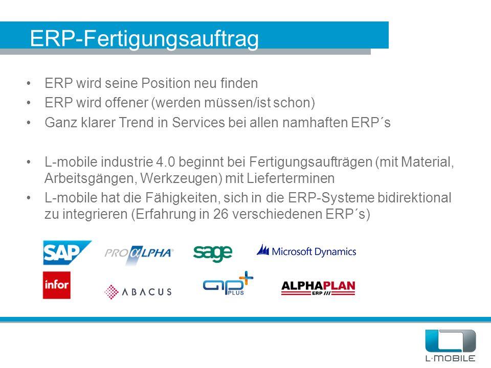 ERP-Fertigungsauftrag