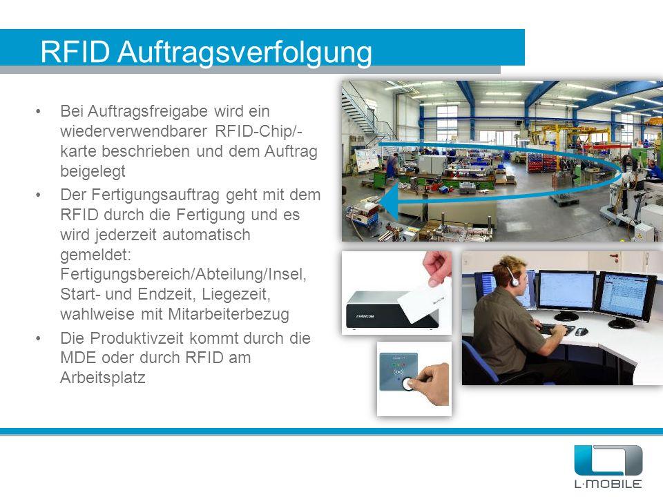 RFID Auftragsverfolgung