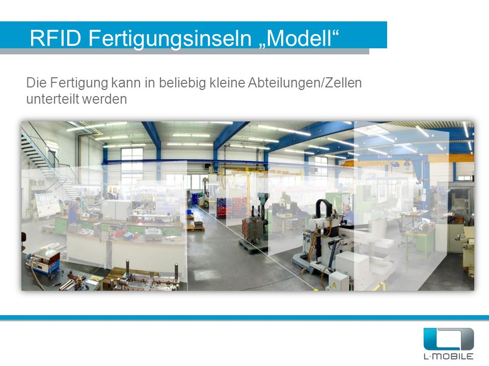 "RFID Fertigungsinseln ""Modell"