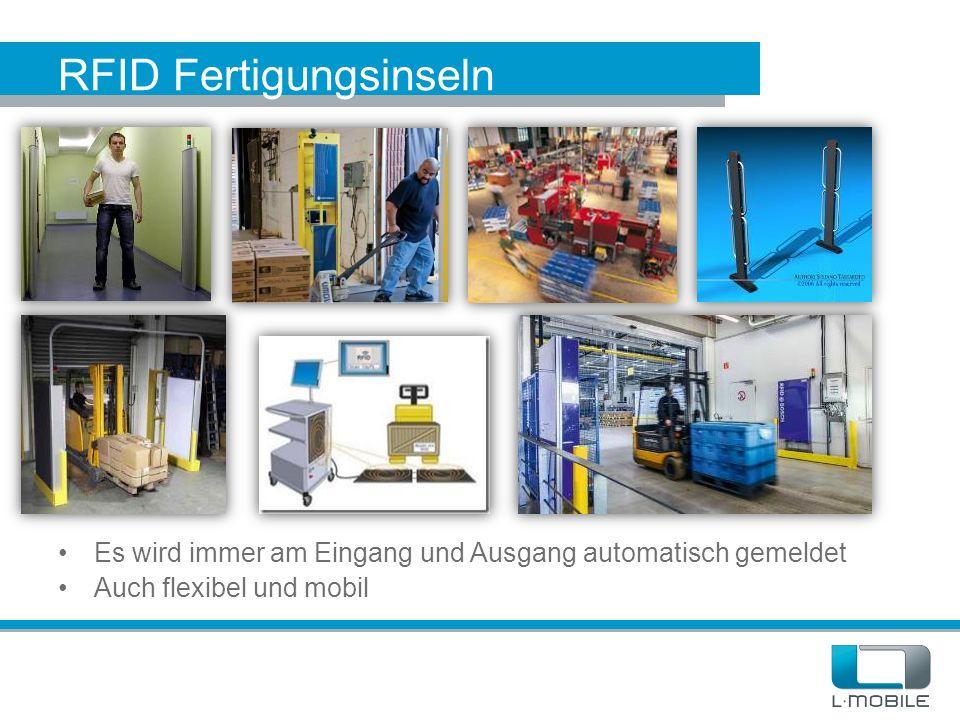 RFID Fertigungsinseln