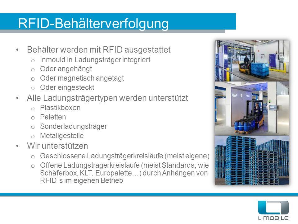 RFID-Behälterverfolgung