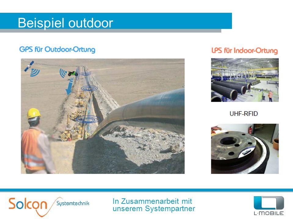 Beispiel outdoor In Zusammenarbeit mit unserem Systempartner