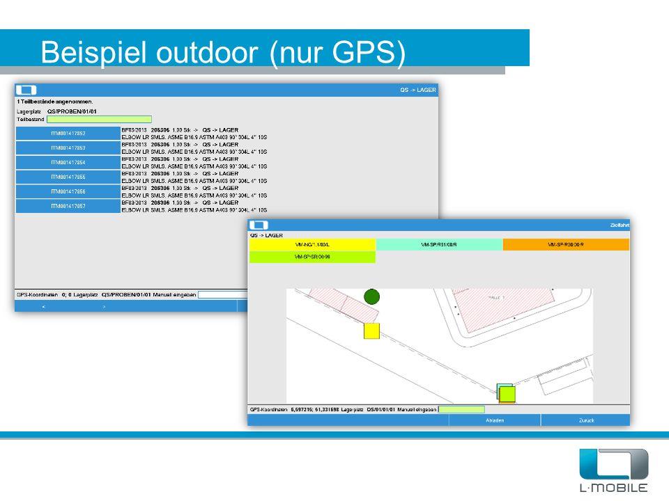 Beispiel outdoor (nur GPS)