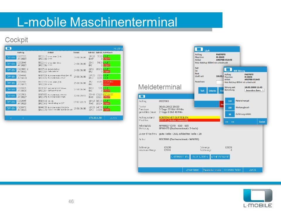 L-mobile Maschinenterminal