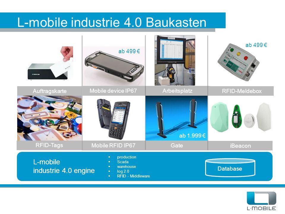 L-mobile industrie 4.0 Baukasten