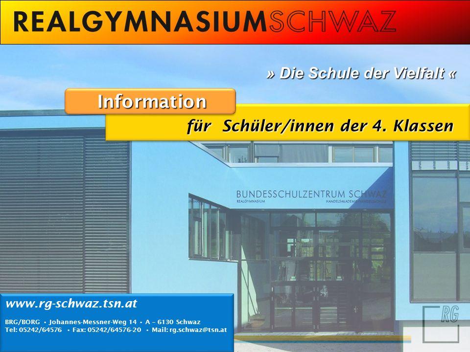 Information » Die Schule der Vielfalt «
