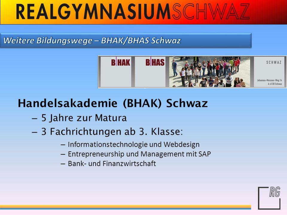 Handelsakademie (BHAK) Schwaz