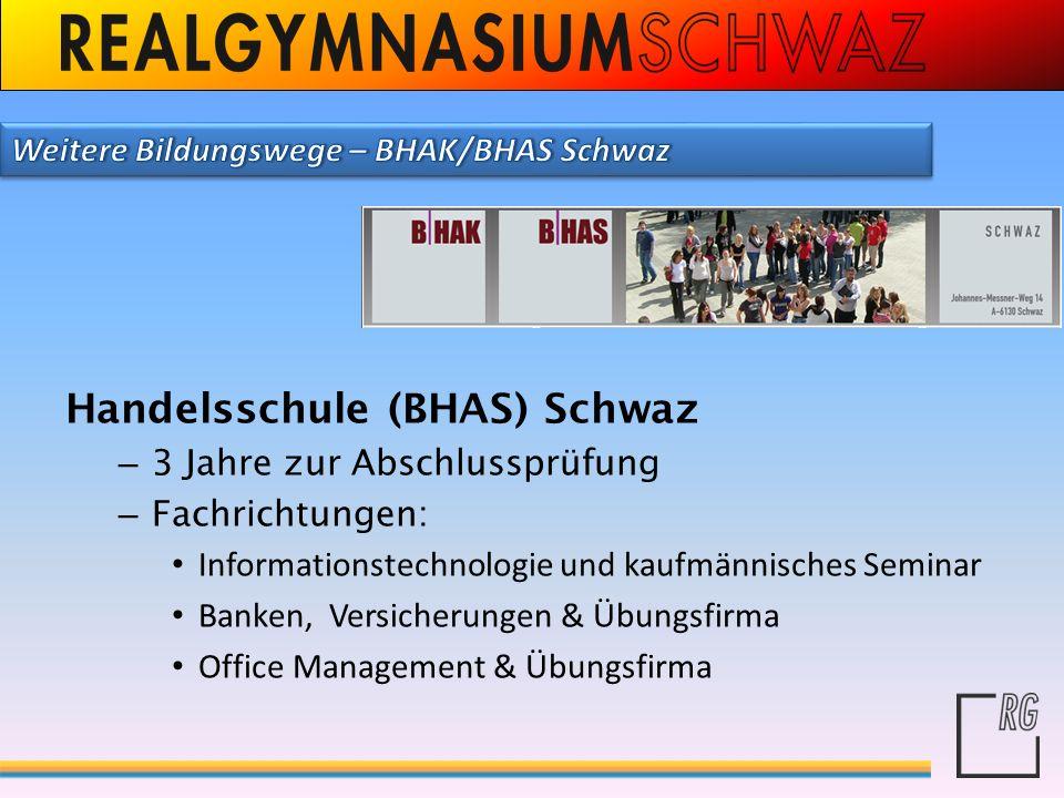 Handelsschule (BHAS) Schwaz
