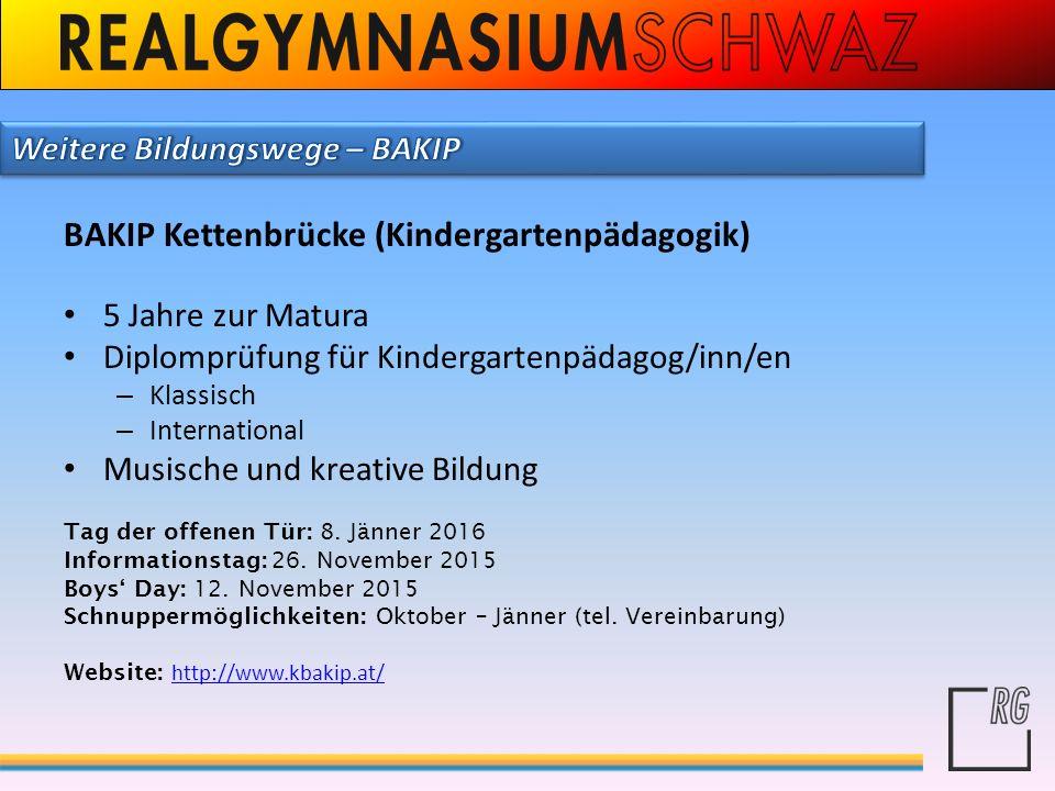 BAKIP Kettenbrücke (Kindergartenpädagogik)