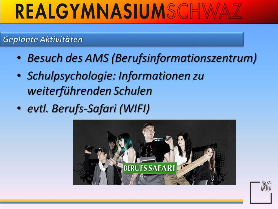 Besuch des AMS (Berufsinformationszentrum)