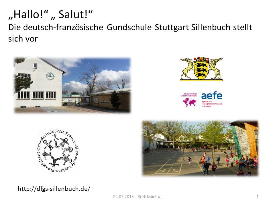 """""""Hallo! """" Salut! Die deutsch-französische Gundschule Stuttgart Sillenbuch stellt sich vor"""