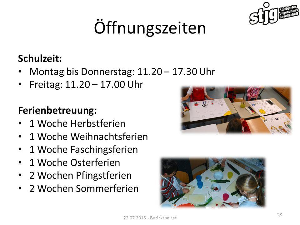 Öffnungszeiten Schulzeit: Montag bis Donnerstag: 11.20 – 17.30 Uhr