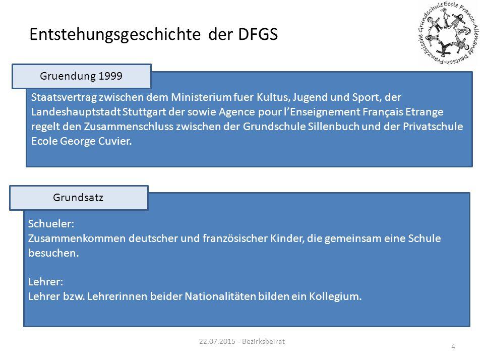 Entstehungsgeschichte der DFGS