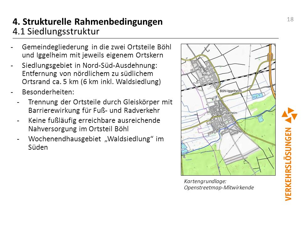 4. Strukturelle Rahmenbedingungen 4.1 Siedlungsstruktur