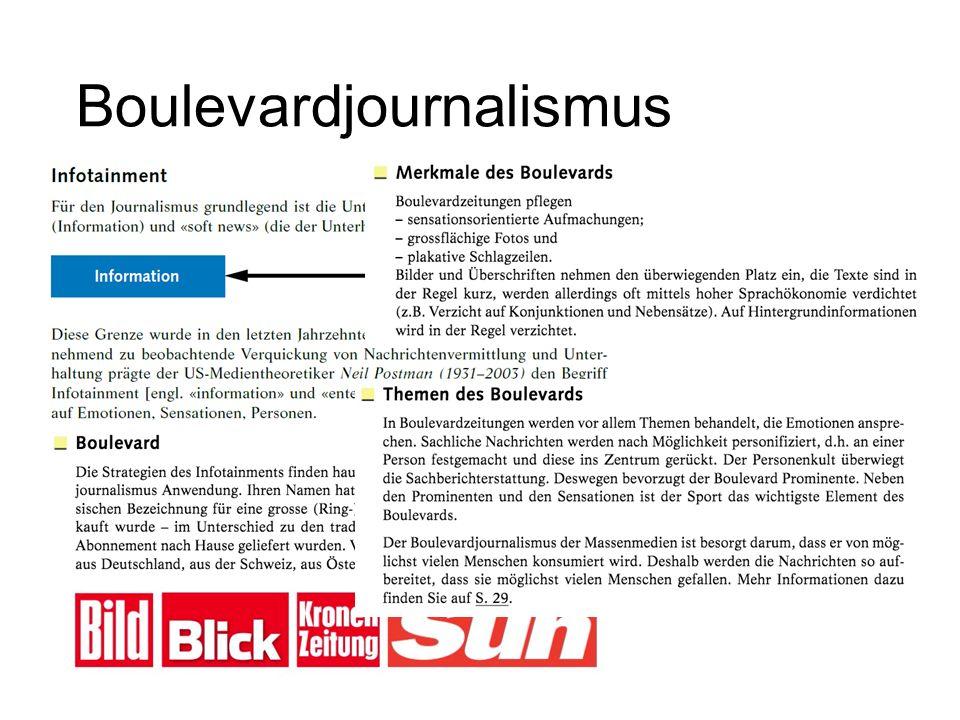 Boulevardjournalismus