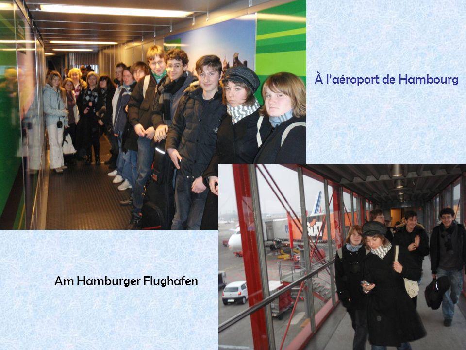 À l'aéroport de Hambourg