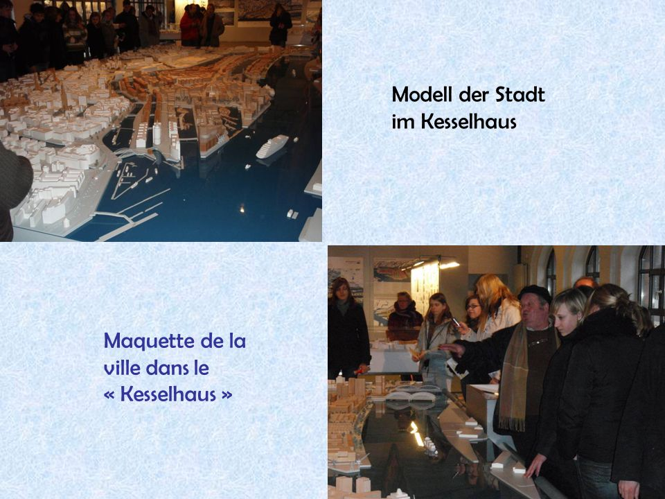Modell der Stadt im Kesselhaus