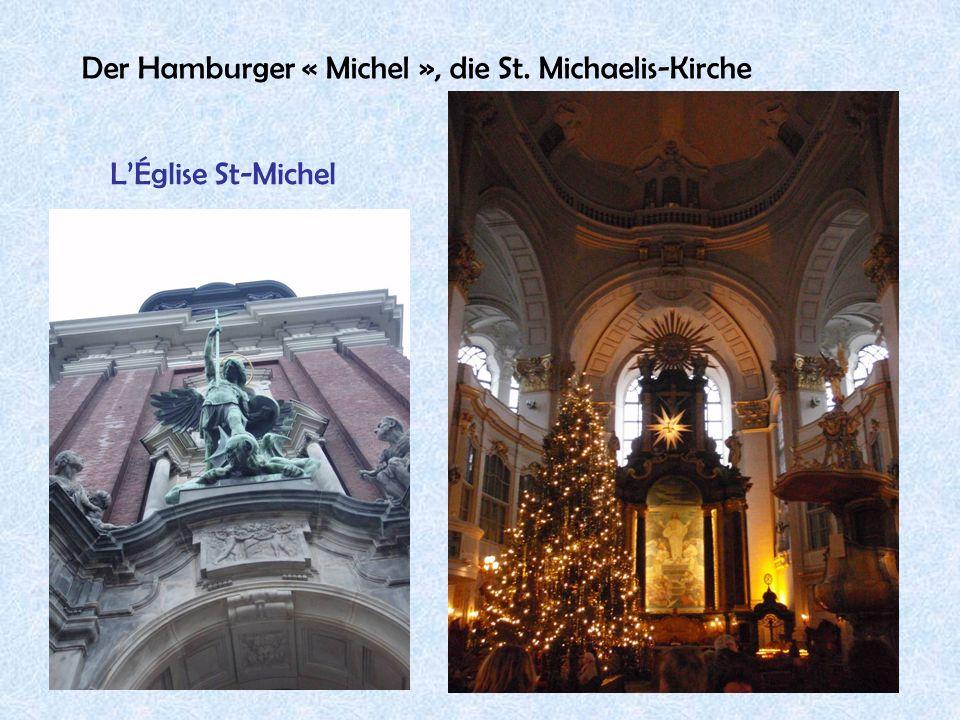 Der Hamburger « Michel », die St. Michaelis-Kirche