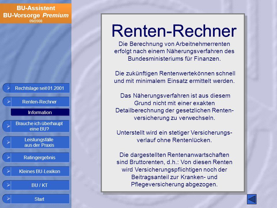 Renten-Rechner Renten-Rechner