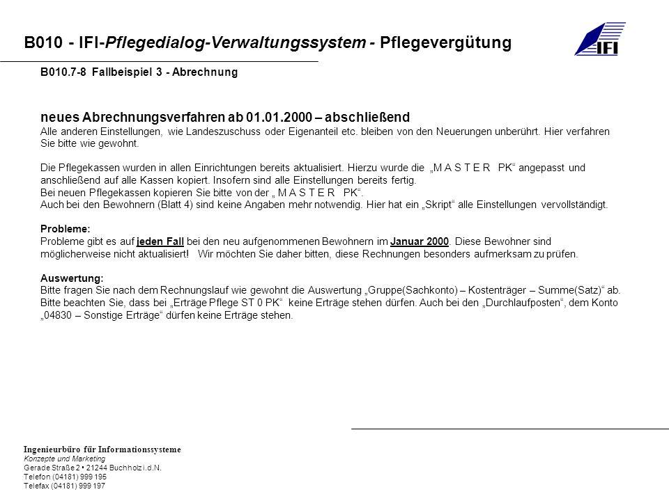 B010.7-8 Fallbeispiel 3 - Abrechnung